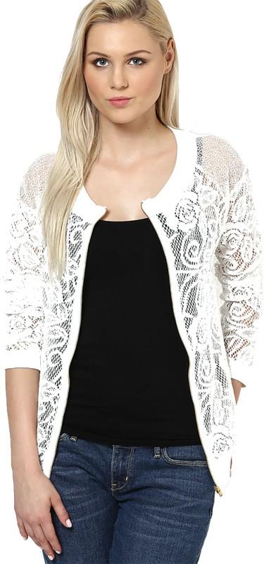 Vero Moda Sleeveless Self Design Women Jacket