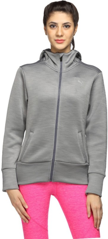 Puma Full Sleeve Solid Womens Jacket