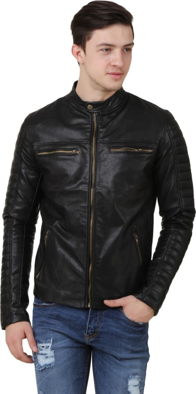 FashionsTree Full Sleeve Solid Mens Jacket