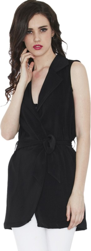 Divaat Sleeveless Solid Women Jacket