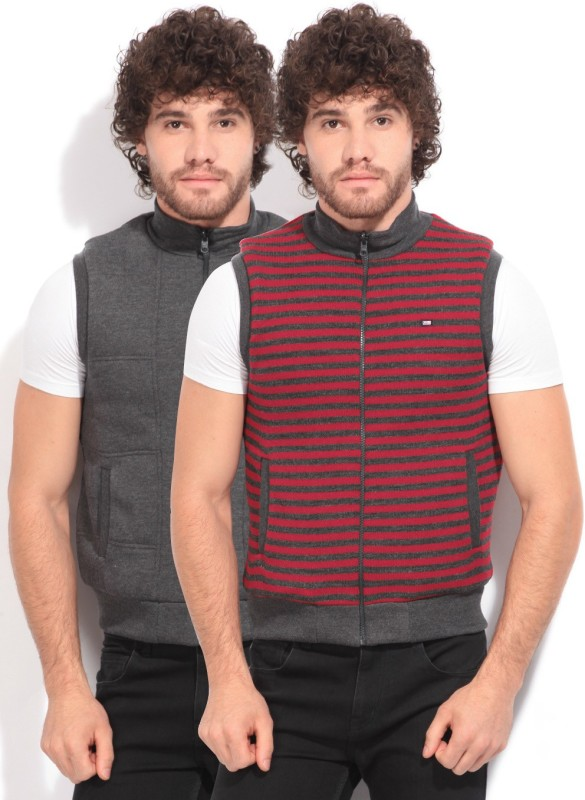 Arrow Sport Sleeveless Solid Mens Jacket