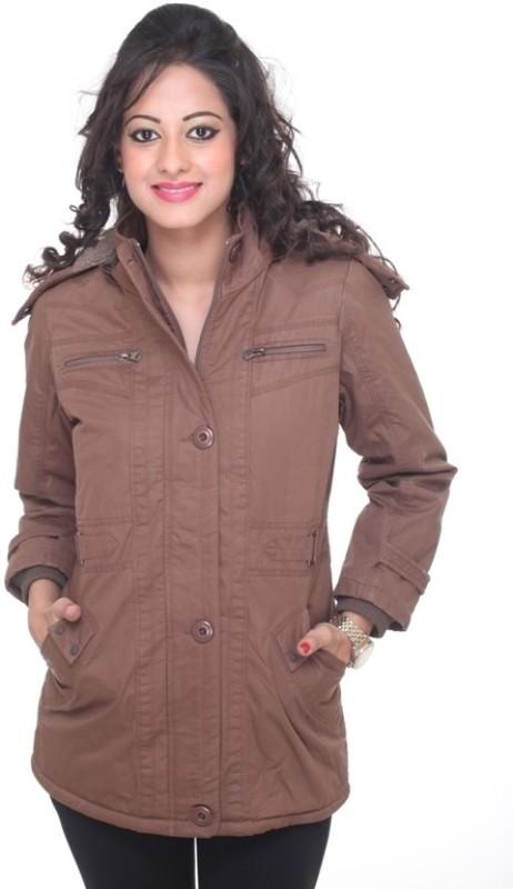 Trufit Full Sleeve Solid Women Jacket