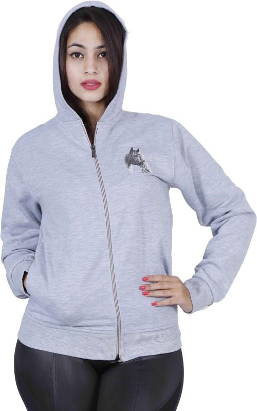 Urban Studio Full Sleeve Solid Women Jacket