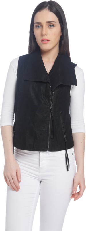 Vero Moda Sleeveless Solid Women Jacket