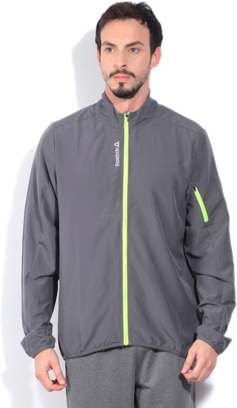 REEBOK Full Sleeve Solid Mens Jacket