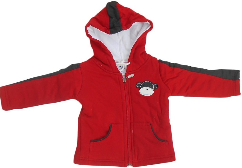 NammaBaby Full Sleeve Solid Baby Boys Jacket