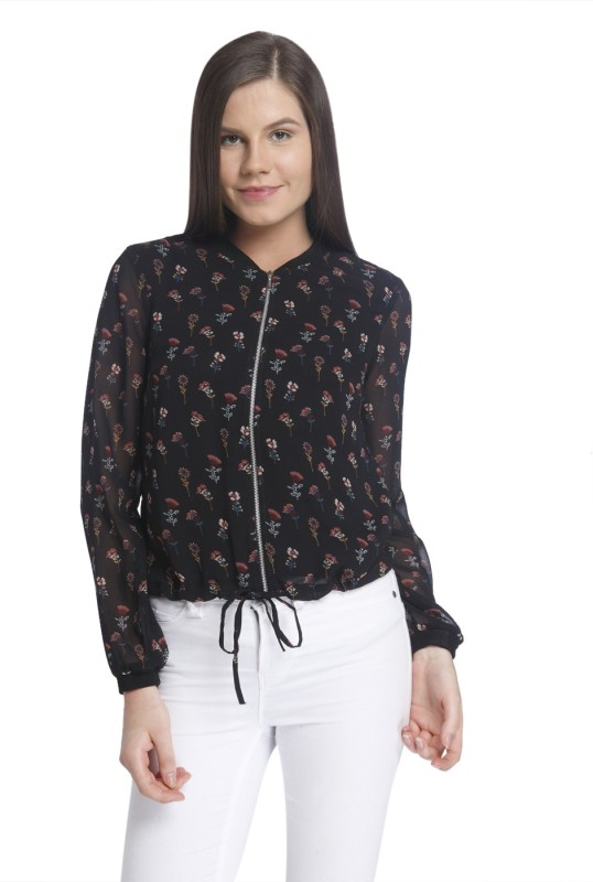 Vero Moda Full Sleeve Floral Print Womens Jacket