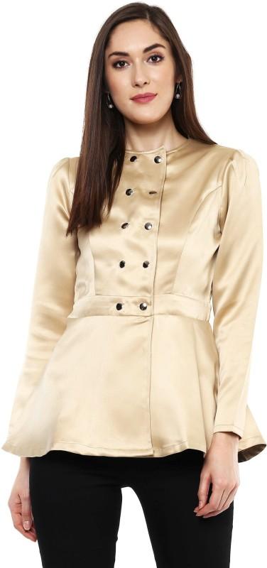 Sassafras Full Sleeve Solid Women Jacket