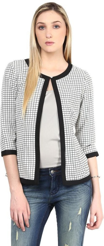 The Vanca 3/4th Sleeve Striped Women's Jacket