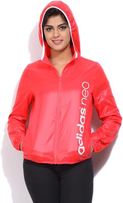 ADIDAS Full Sleeve Printed Women Sports Jacket