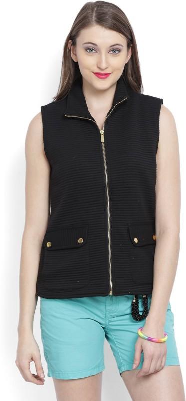 Allen Solly Sleeveless Solid Women Jacket
