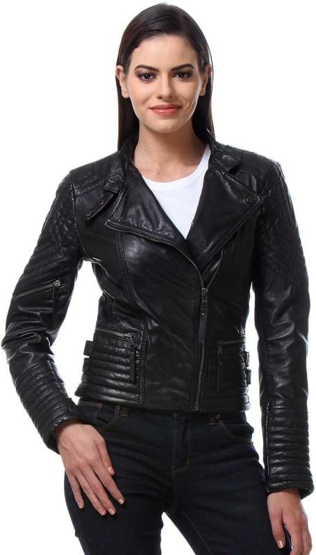 Bare Skin Full Sleeve Solid Women Jacket