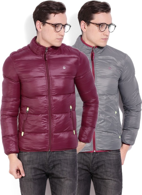 United Colors of Benetton. Full Sleeve Solid Men's Jacket