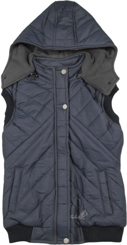 Fort Collins Sleeveless Solid Girls Quilted Jacket