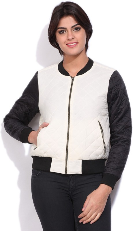 Allen Solly Full Sleeve Self Design Women Quilted Jacket