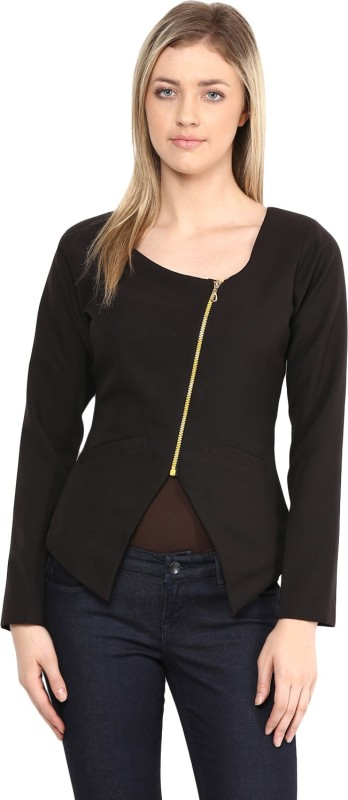 Athena Full Sleeve Solid Women Jacket