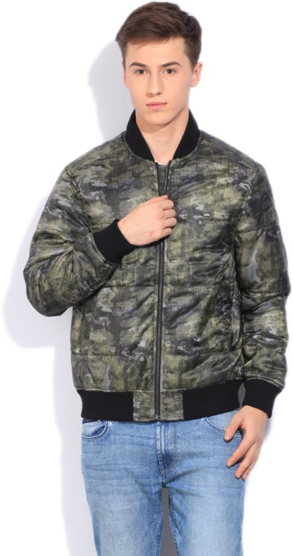 Lee Full Sleeve Printed Mens Jacket