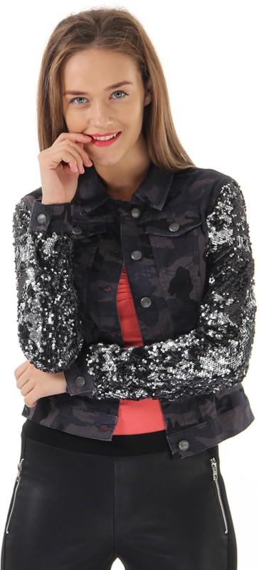 Only Full Sleeve Embellished Women Jacket