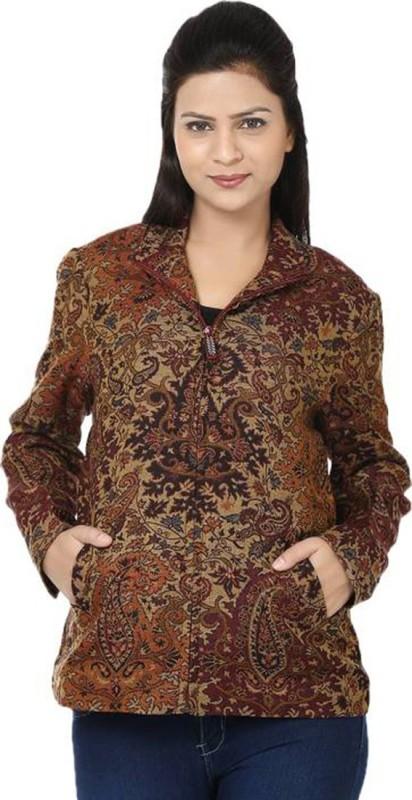 Reevolution Full Sleeve Paisley Women Jacket