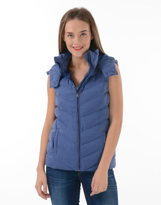 U.S. Polo Assn Sleeveless Solid Womens Jacket