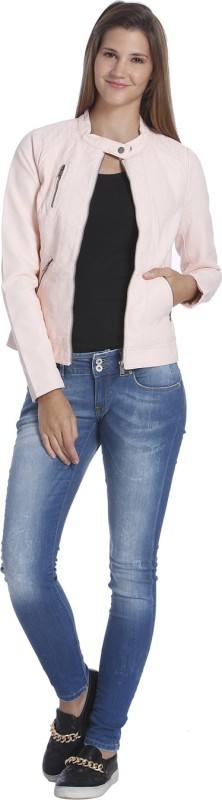Only Full Sleeve Solid Women Jacket