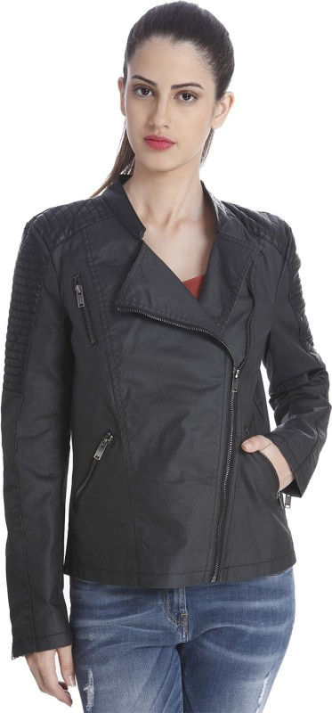 Only Full Sleeve Solid Womens Jacket
