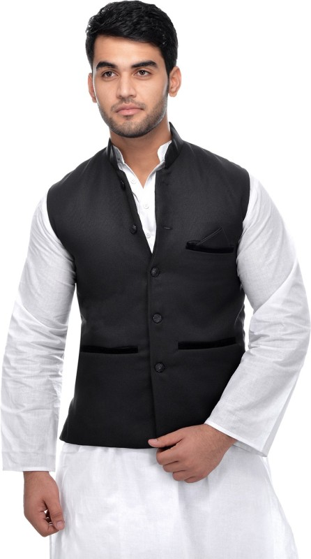 Calibro Sleeveless Solid Mens Jacket