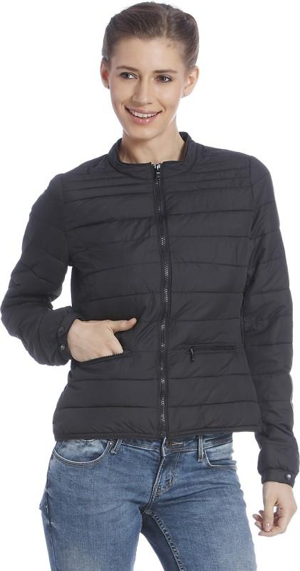 Only Full Sleeve Solid Women Bomber s Jacket