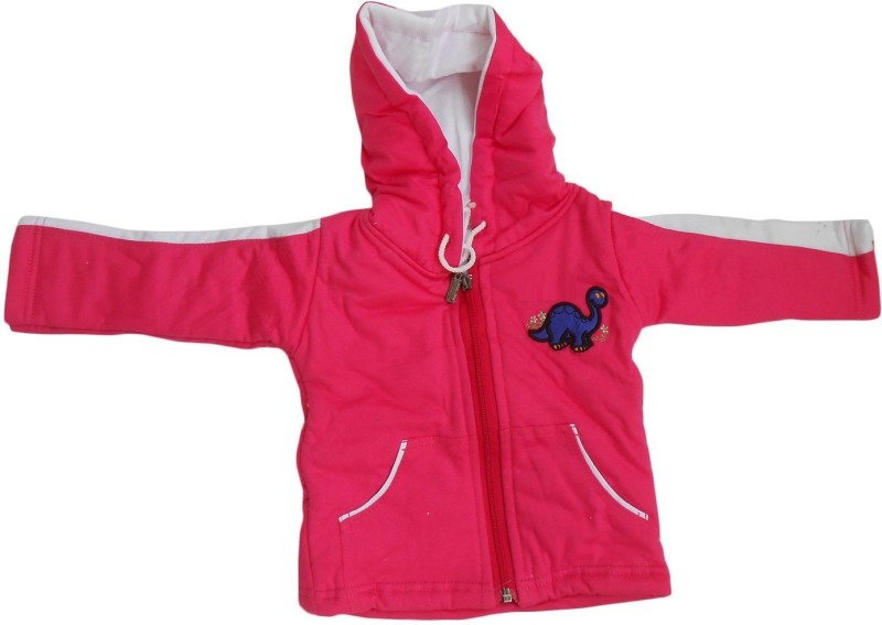 NammaBaby Full Sleeve Solid Baby Girls Jacket