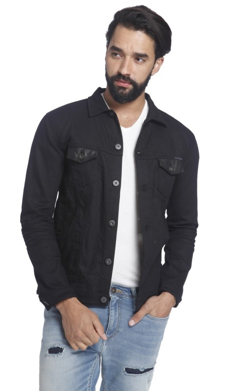 Jack & Jones Full Sleeve Solid Mens Jacket