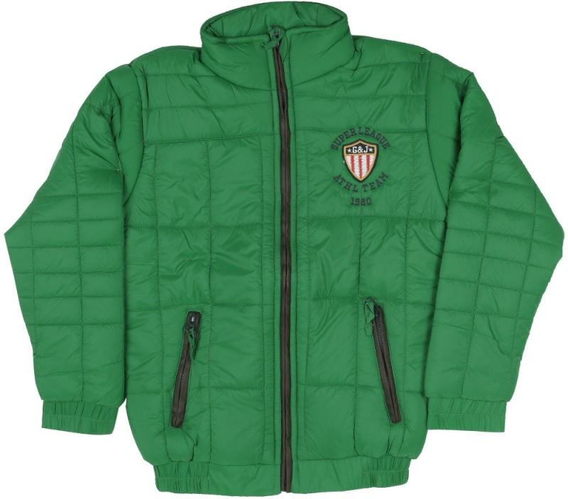 Gini & Jony Full Sleeve Solid Boys jacket