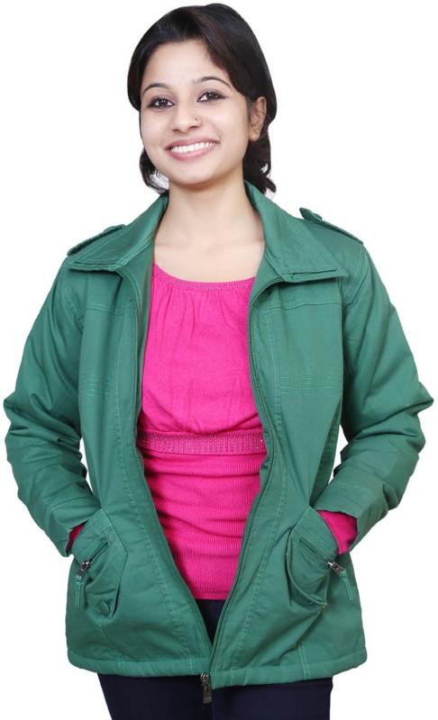 Port Full Sleeve Solid Women Jacket
