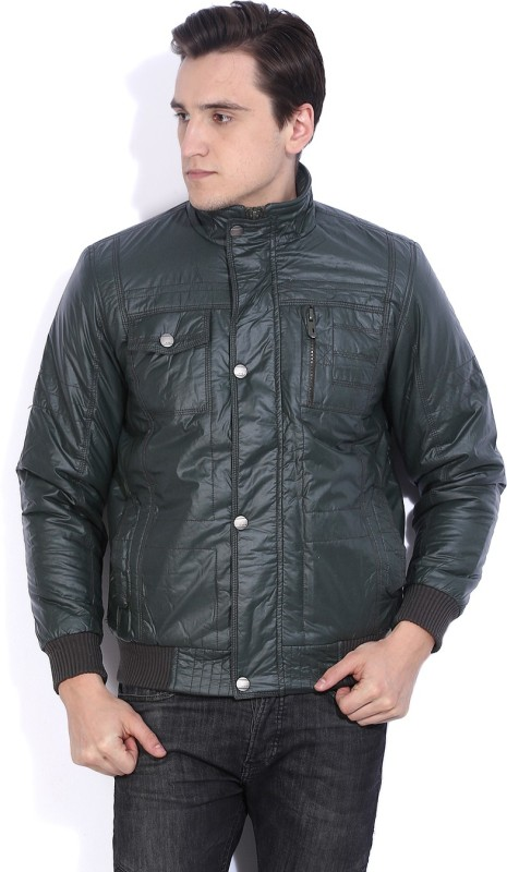 Fort Collins Full Sleeve Solid Men's Casual Jacket