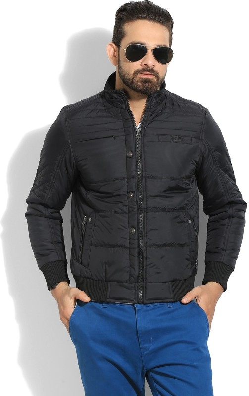 Fort Collins Full Sleeve Solid Mens Quilted Jacket