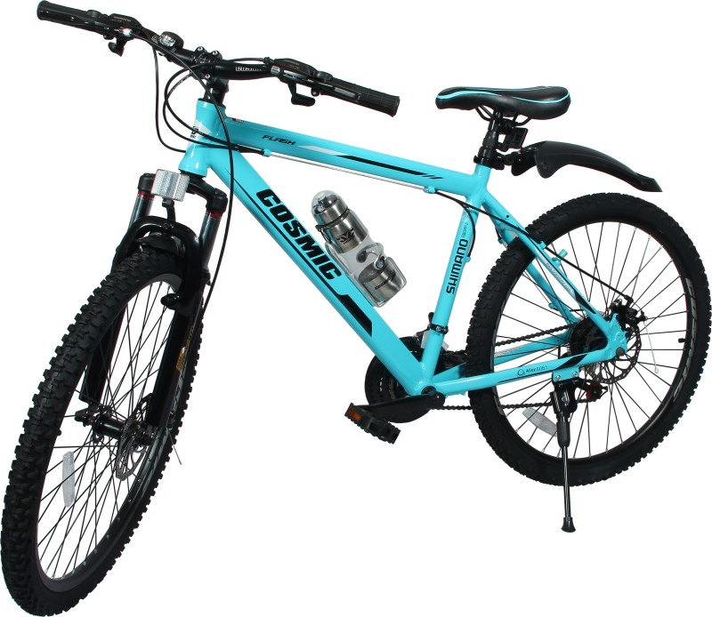 COSMIC FLASH MTB BICYCLE (21 SPEED) BLUE/WHITE 26 T 21 Speed Mountain/Hardtail Cycle(Blue, White)