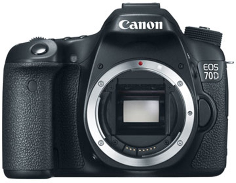 Canon EOS 70D DSLR Camera Body only(Black) image