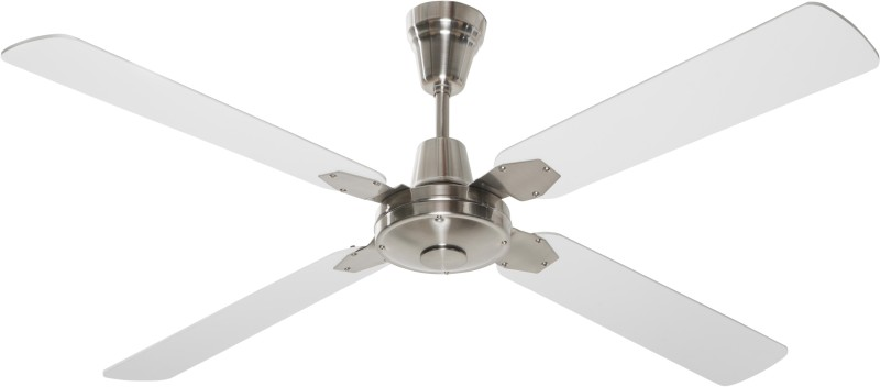 Anemos Classic BN 4 Blade Ceiling Fan(Brushed Nickel With Blades)
