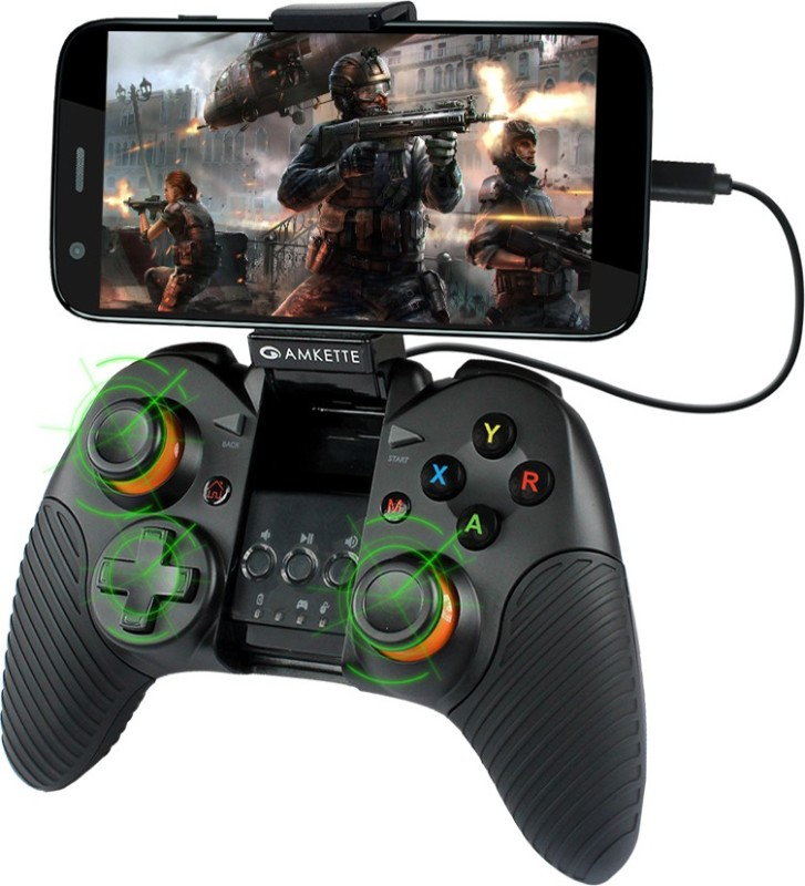Amkette Evo Gamepad Wired (For All OTG Supported Android Phones and Tablets only)(Black)