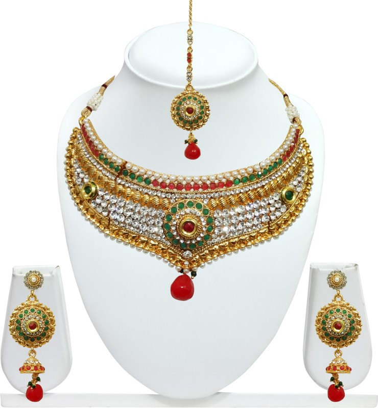 Chetan Arts Jewellery Alloy Jewel Set(Multicolor)