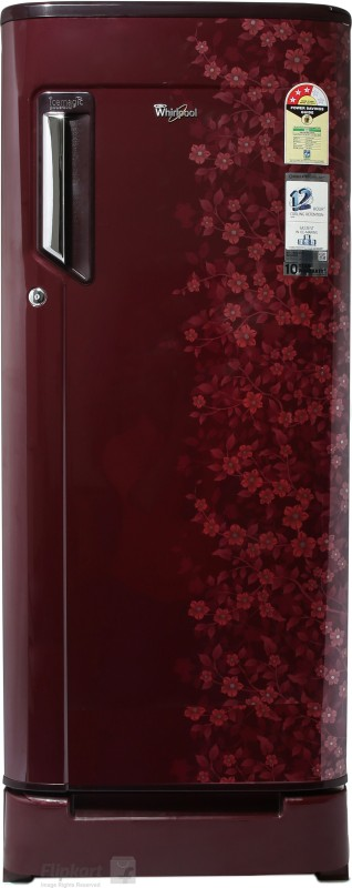 Whirlpool 200 L Direct Cool Single Door Refrigerator(Wine Exotica, 215...