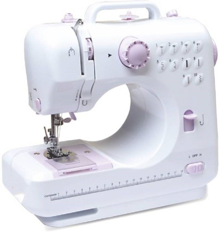 Tradeaiza Portable & Compact Electric sewing Machine(Built_in 10 Pattern) Sewing Machine Base No(Plastic)