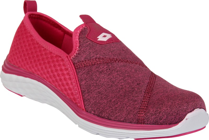 Lotto FLY KNIT Running Shoes For Women(Red)