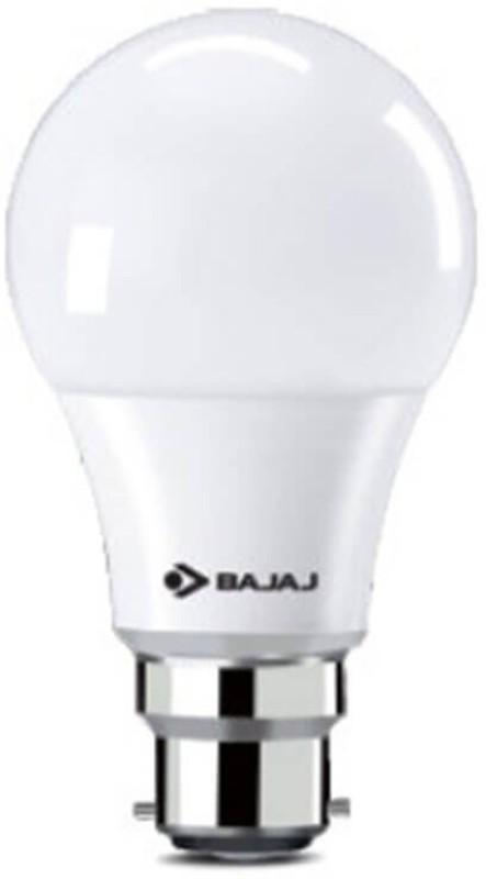 Bajaj 12 W Round B22 LED Bulb(White)