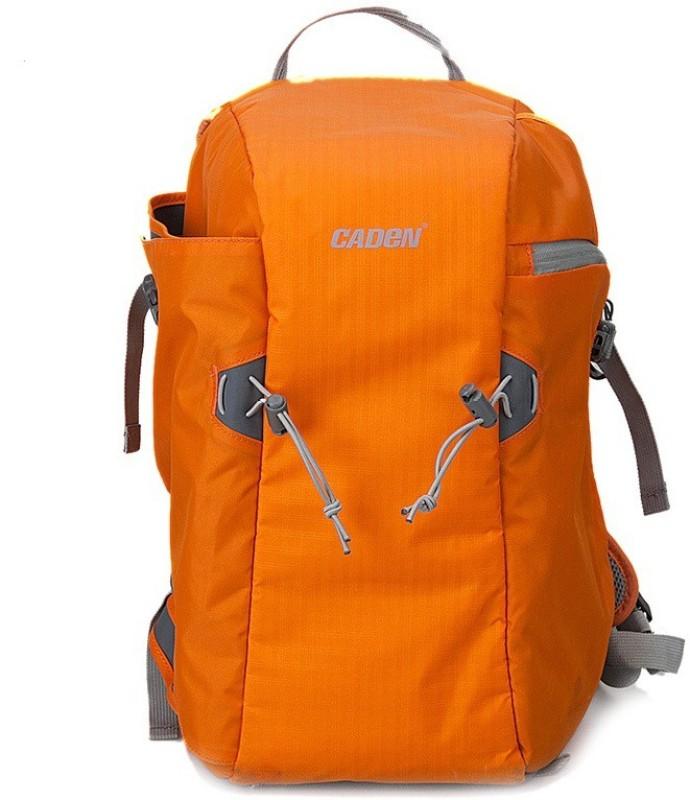 Caden E5 DSLR Waterproof Anti Theft Front Open (Orange)  Camera Bag(Orange)