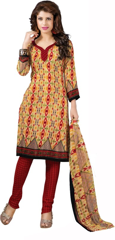 Women Latest Fancy Designer Salwar Suit Art Silk Printed Salwar Suit Dupatta...