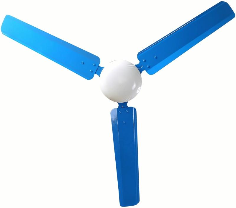 Sameer i-Flo Dust proof 3 Blade Ceiling Fan(Blue)