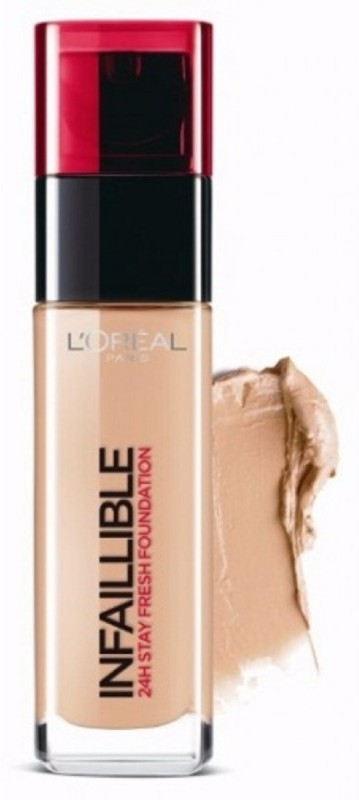 L'Oreal Paris Infallible Stay Fresh Foundation 24h Foundation(145 Rose Beige, 30 g)