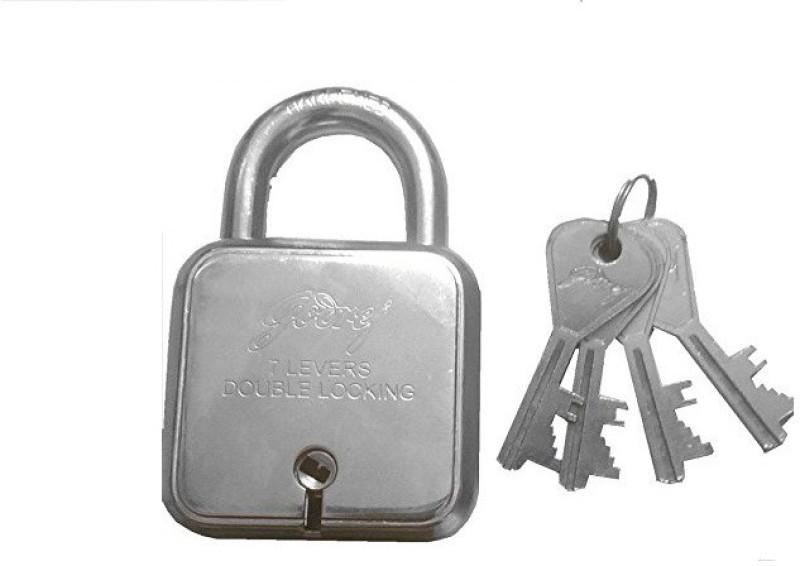 Godrej 8153 Padlock(Silver)