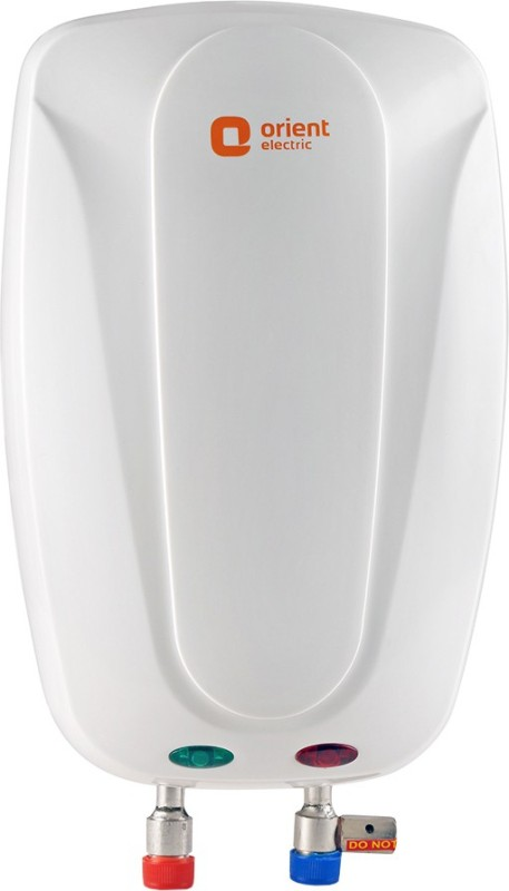 Orient Electric 1 L Instant Water Geyser(White, WT0101P - Aura)