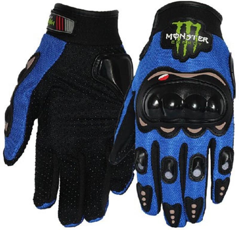 JMD Monster Blue Glove (L) Driving Gloves (L, Blue)